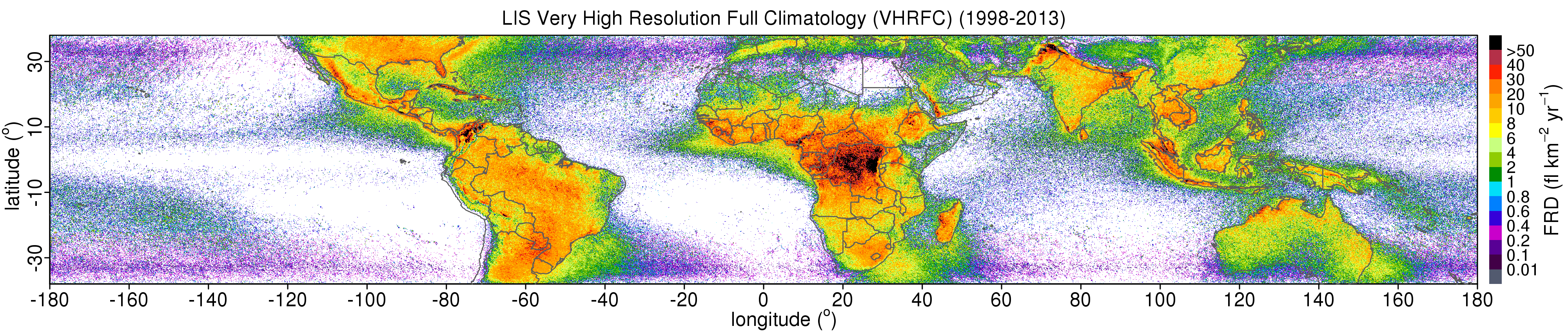 LIS Very High Resolution Climatology