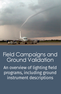Link to lightning-related field campaigns and descriptions of instruments